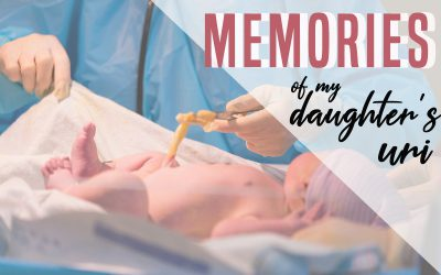 Memories of my daughter's URI ( Umbilical Cord & Placenta )