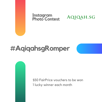 AqiqahSG Romper Winner: January 2021